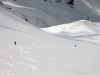 Spring conditions on the Timoron glacier.